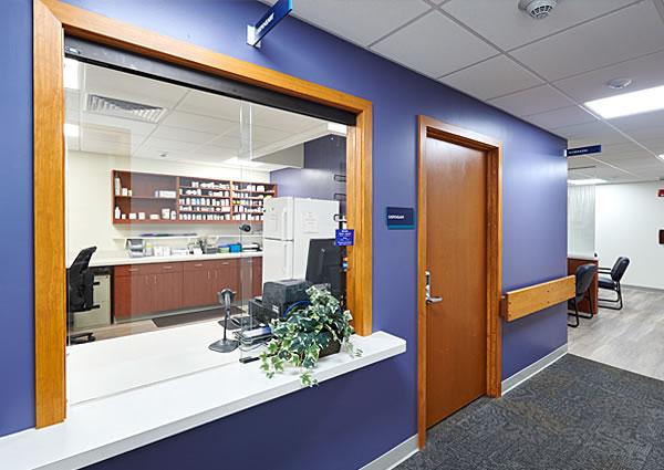 Lancaster Cancer Center pharmacy and dispensary