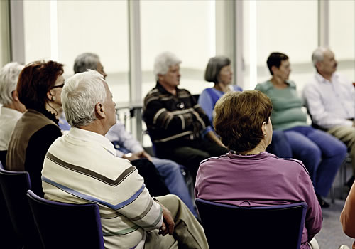 cancer support group class