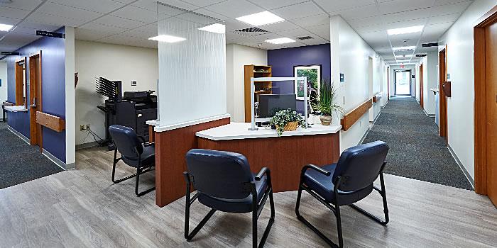 Lancaster Cancer Center scheduling desk
